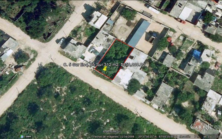 Foto de terreno habitacional en venta en, ejidal, solidaridad, quintana roo, 1877834 no 02