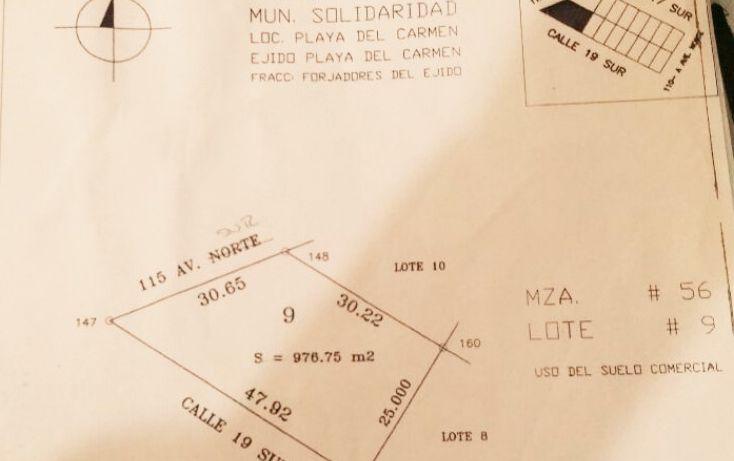 Foto de terreno habitacional en venta en, ejidal, solidaridad, quintana roo, 2043977 no 02