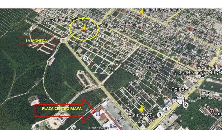 Foto de terreno habitacional en venta en  , ejidal, solidaridad, quintana roo, 2043977 No. 03