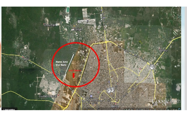 Foto de terreno habitacional en venta en  , ejido de chuburna, mérida, yucatán, 1115297 No. 02