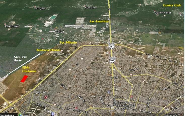 Foto de terreno habitacional en venta en  , ejido de chuburna, mérida, yucatán, 1115297 No. 03