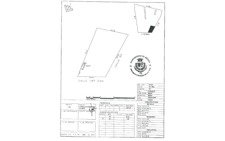 Foto de terreno comercial en renta en  , ejido de chuburna, mérida, yucatán, 1261645 No. 06