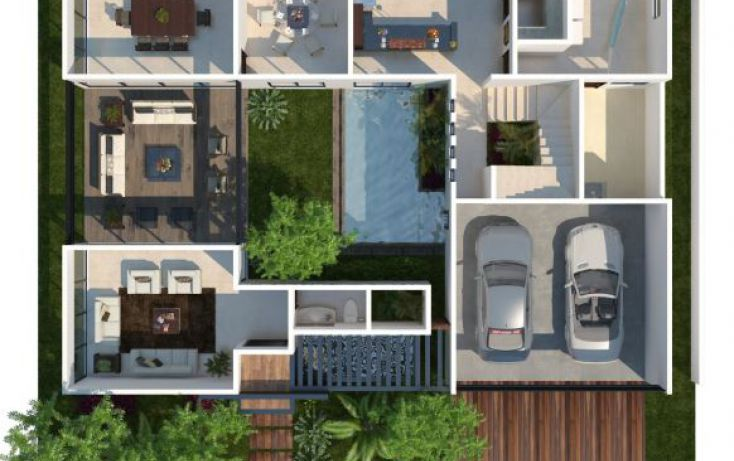 Foto de casa en venta en, ejido de chuburna, mérida, yucatán, 1732292 no 02