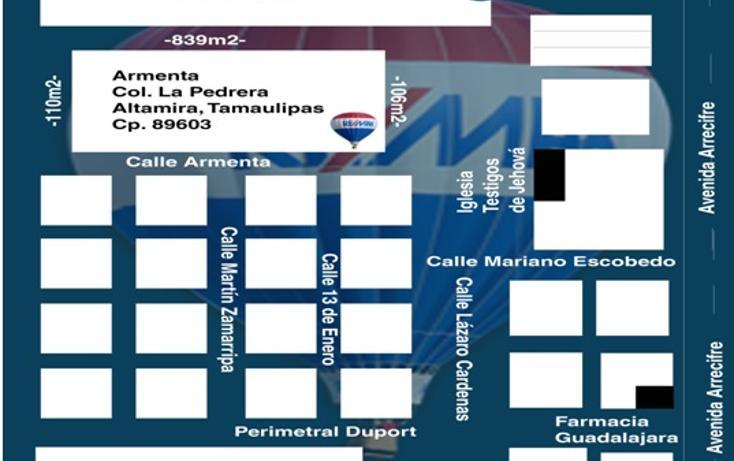 Foto de terreno habitacional en venta en  , ejido la pedrera, altamira, tamaulipas, 1088311 No. 07