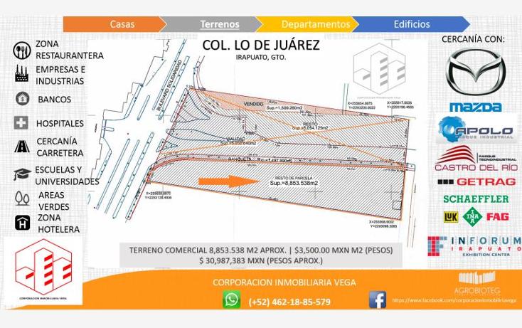 Foto de terreno comercial en venta en  , ejido lo de ju?rez, irapuato, guanajuato, 1328955 No. 01