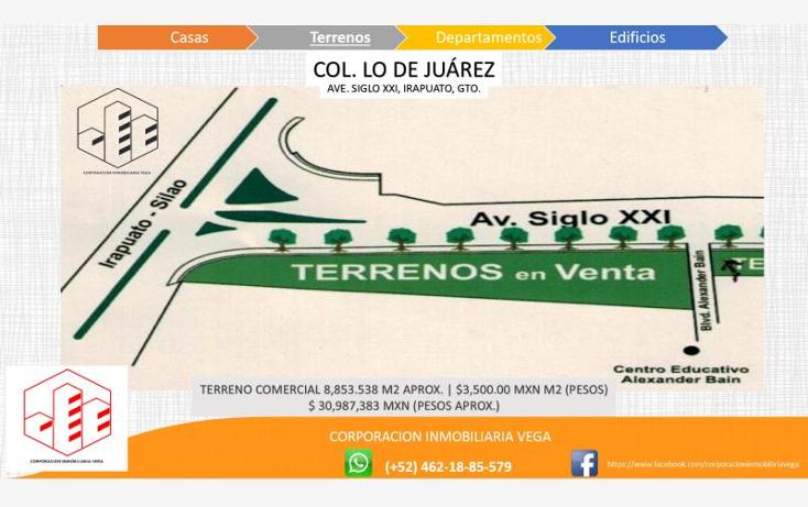 Foto de terreno comercial en venta en  , ejido lo de ju?rez, irapuato, guanajuato, 1328955 No. 02