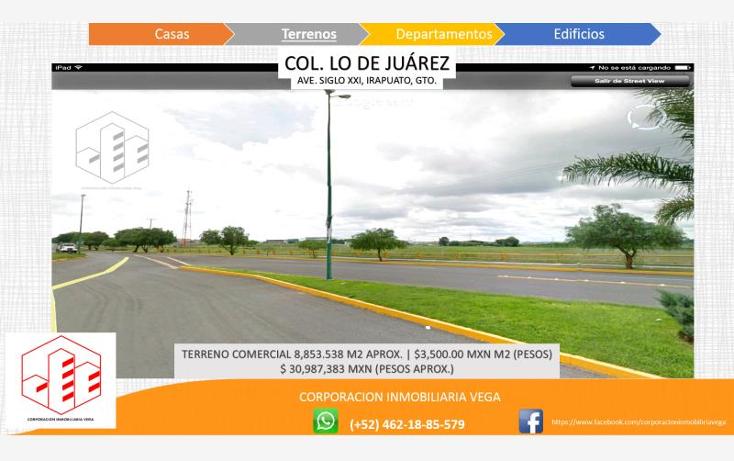 Foto de terreno comercial en venta en  , ejido lo de ju?rez, irapuato, guanajuato, 1328955 No. 03