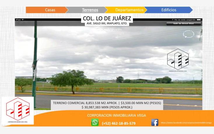 Foto de terreno comercial en venta en  , ejido lo de ju?rez, irapuato, guanajuato, 1328955 No. 04