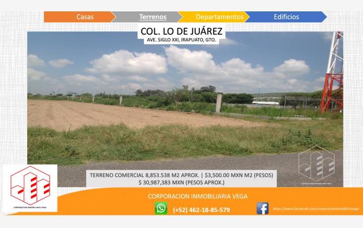 Foto de terreno comercial en venta en  , ejido lo de ju?rez, irapuato, guanajuato, 1328955 No. 05