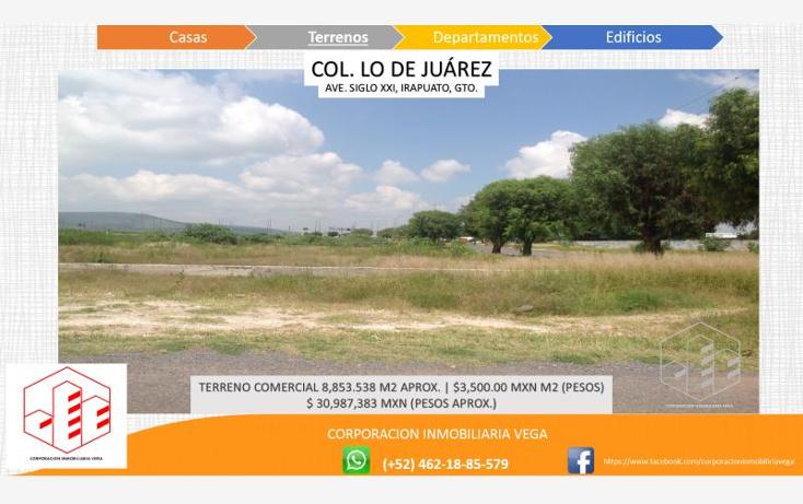 Foto de terreno comercial en venta en  , ejido lo de ju?rez, irapuato, guanajuato, 1328955 No. 06