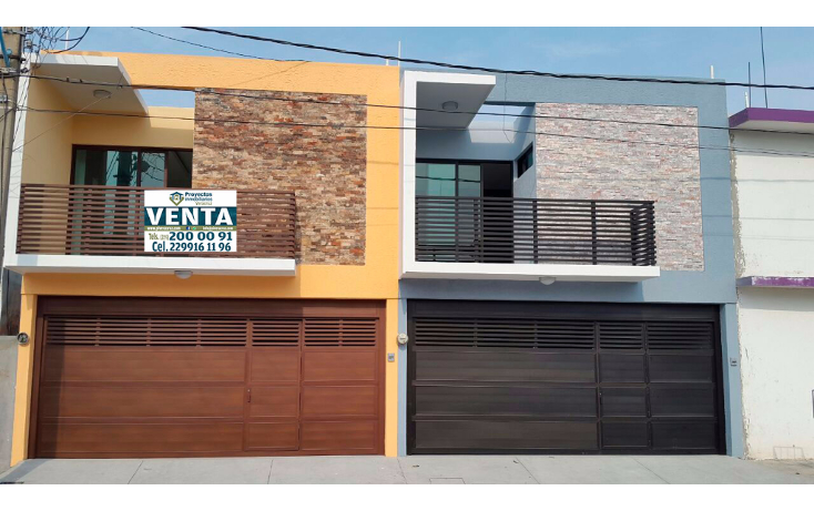 Foto de casa en venta en  , ejido primero de mayo sur, boca del r?o, veracruz de ignacio de la llave, 1166725 No. 01