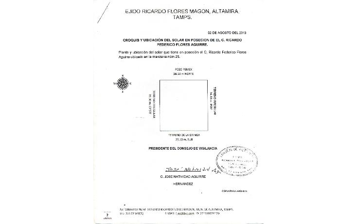 Foto de casa en renta en  , ejido ricardo flores mag?n, altamira, tamaulipas, 1116555 No. 10