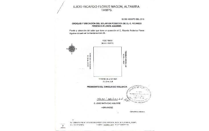 Foto de casa en venta en  , ejido ricardo flores magón, altamira, tamaulipas, 1664514 No. 10