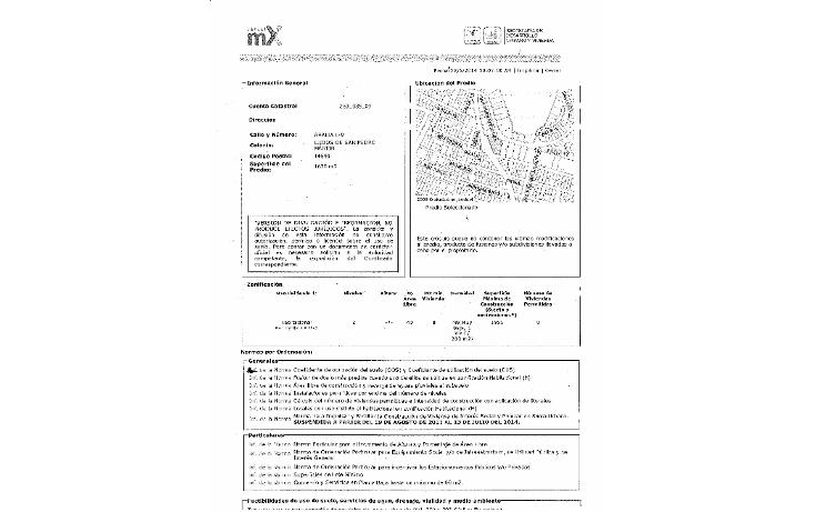 Foto de terreno habitacional en venta en  , ejidos de san pedro mártir, tlalpan, distrito federal, 1085757 No. 02