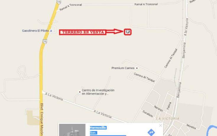 Foto de terreno habitacional en venta en, el alamito buenavista el tronconal, hermosillo, sonora, 1978140 no 01