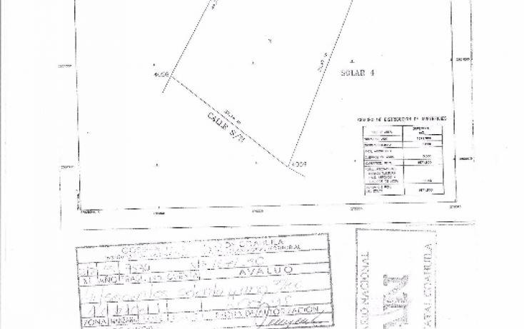 Foto de terreno comercial en venta en, el álamo, saltillo, coahuila de zaragoza, 1746568 no 01