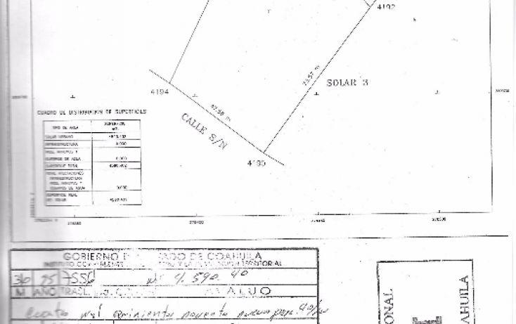 Foto de terreno comercial en venta en, el álamo, saltillo, coahuila de zaragoza, 1746568 no 02