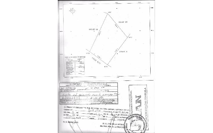 Foto de terreno comercial en venta en  , el ?lamo, saltillo, coahuila de zaragoza, 1746568 No. 02