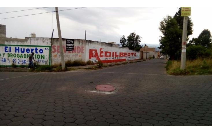 Foto de terreno habitacional en venta en  , el alto, chiautempan, tlaxcala, 1713826 No. 01