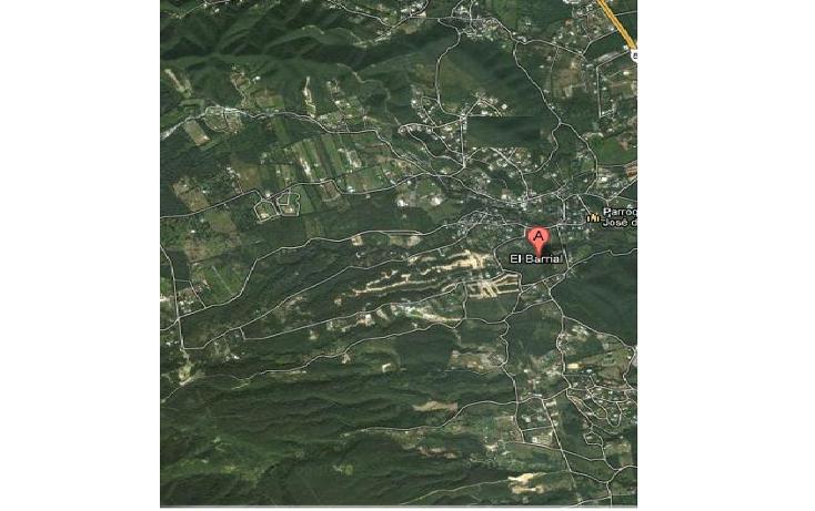 Foto de terreno habitacional en venta en  , el barrial, santiago, nuevo le?n, 1082999 No. 01