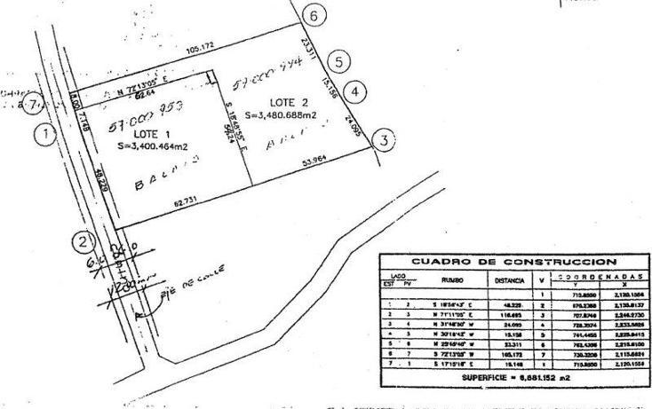 Foto de terreno habitacional en venta en  , el barrial, santiago, nuevo león, 1219729 No. 03
