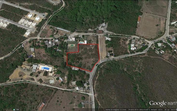 Foto de terreno habitacional en venta en  , el barrial, santiago, nuevo león, 1258999 No. 01