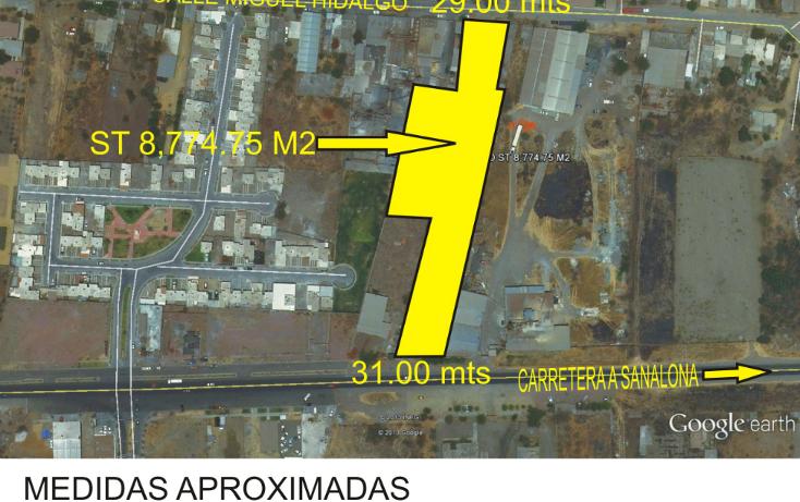 Foto de terreno comercial en venta en  , el barrio, culiacán, sinaloa, 1119703 No. 01
