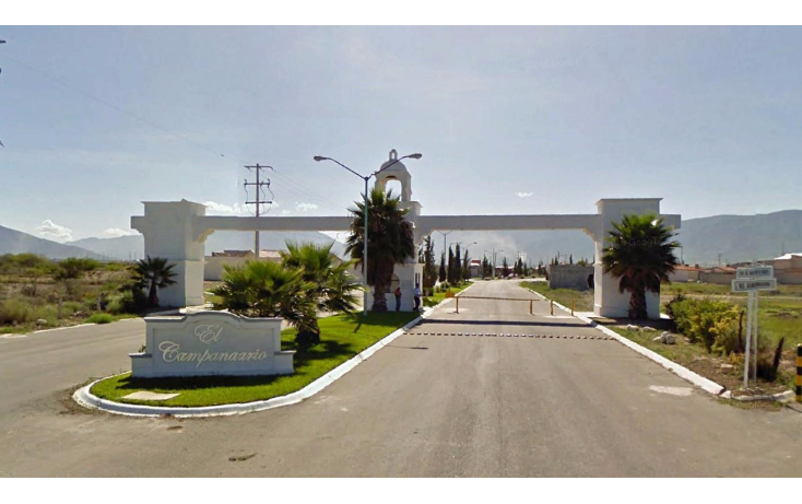 Foto de terreno habitacional en venta en  , el campanario, saltillo, coahuila de zaragoza, 1295113 No. 01