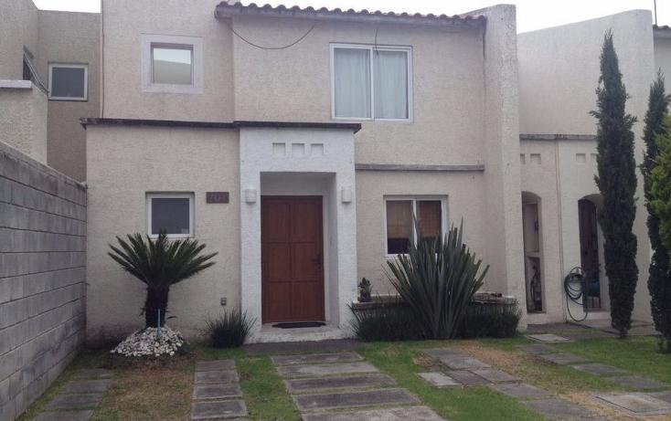 Foto de casa en renta en  , el castaño, metepec, méxico, 1116541 No. 01