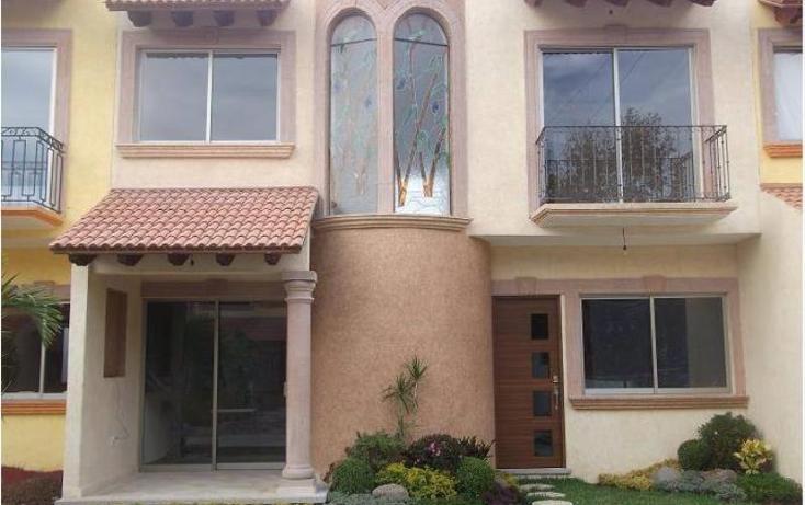 Foto de casa en venta en  , el castillo, jiutepec, morelos, 968229 No. 01