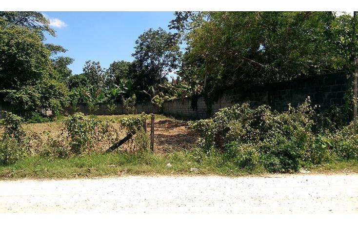 Foto de terreno habitacional en venta en  , el cedro, centro, tabasco, 1436287 No. 01
