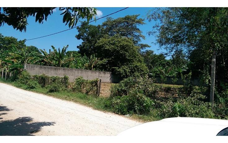 Foto de terreno habitacional en venta en  , el cedro, centro, tabasco, 1436287 No. 03