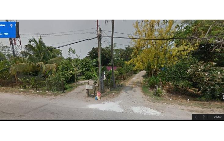 Foto de terreno habitacional en venta en  , el cedro, centro, tabasco, 1436395 No. 01