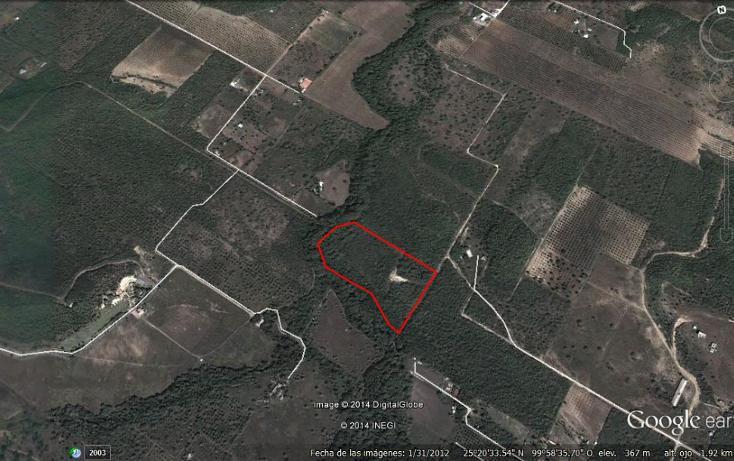 Foto de terreno habitacional en venta en  , el cerrito, allende, nuevo león, 1164703 No. 01