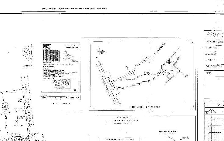 Foto de terreno habitacional en venta en  , el cerrito, allende, nuevo león, 1164703 No. 03