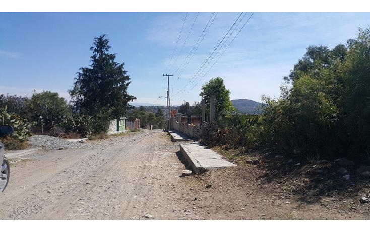 Foto de terreno habitacional en venta en  , el cerrito, zempoala, hidalgo, 1852156 No. 06