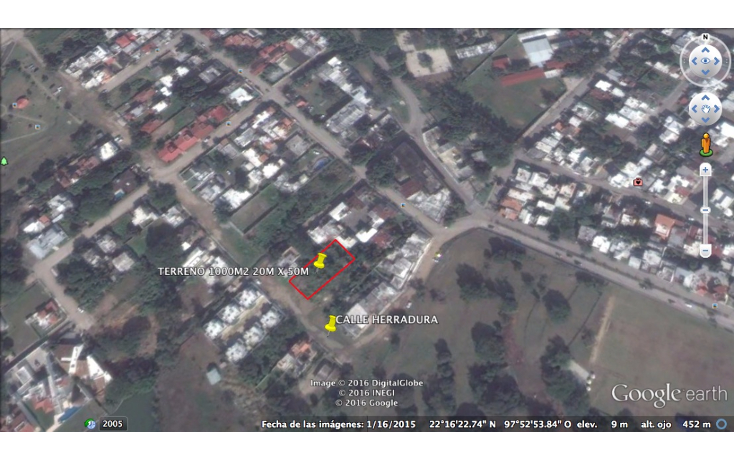 Foto de terreno habitacional en venta en  , el charro, tampico, tamaulipas, 1986148 No. 01