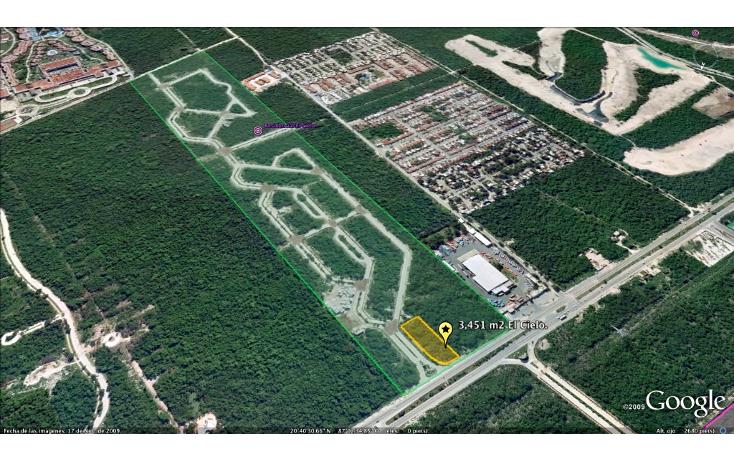 Foto de terreno comercial en venta en  , el cielo, solidaridad, quintana roo, 1246661 No. 03