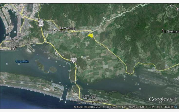 Foto de terreno industrial en venta en  , el colomo, manzanillo, colima, 761675 No. 02