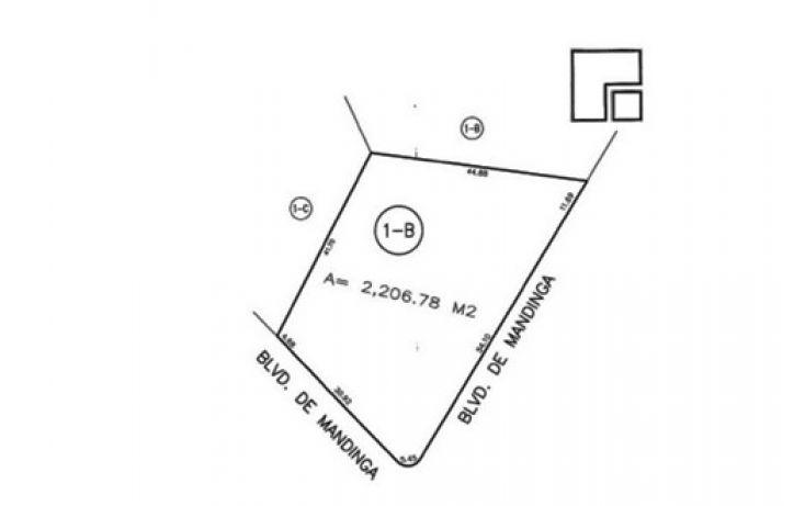 Foto de terreno habitacional en venta en, el conchal, alvarado, veracruz, 1095207 no 02