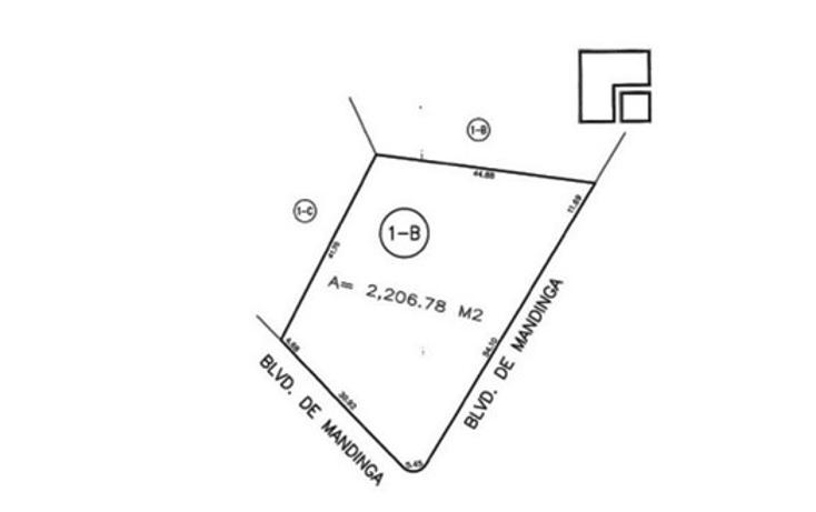 Foto de terreno habitacional en venta en  , el conchal, alvarado, veracruz de ignacio de la llave, 1095207 No. 02
