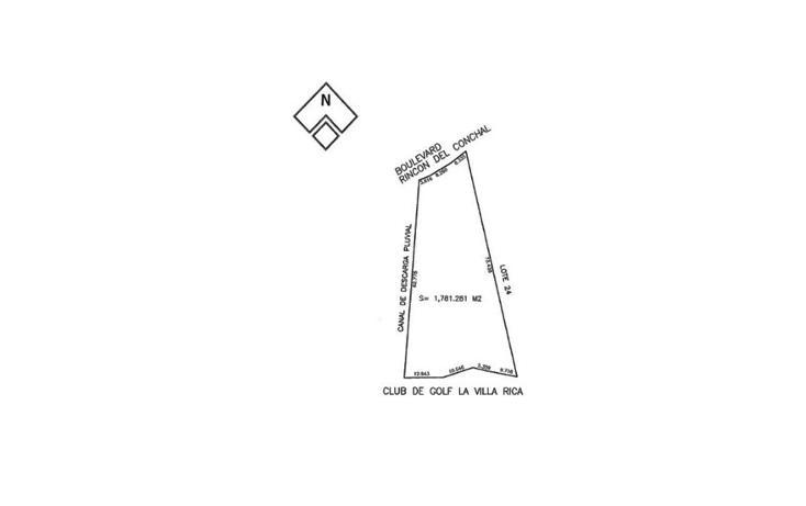Foto de terreno habitacional en venta en  , el conchal, alvarado, veracruz de ignacio de la llave, 1128241 No. 02