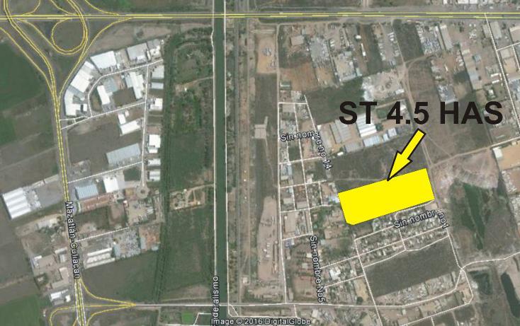 Foto de terreno comercial en venta en  , el diez, culiacán, sinaloa, 1999498 No. 02