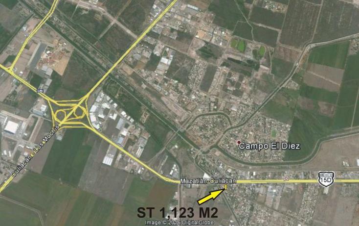Foto de terreno comercial en venta en  , el diez, culiacán, sinaloa, 2628796 No. 03