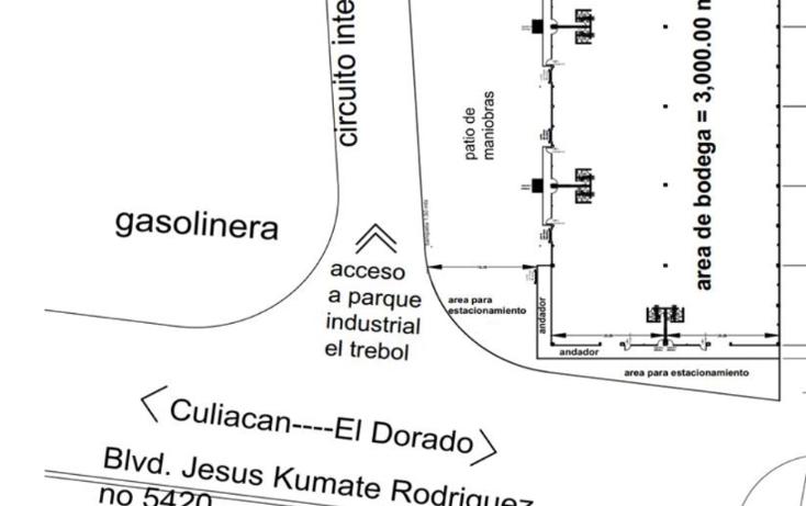 Foto de nave industrial en renta en  , el diez, culiacán, sinaloa, 939723 No. 03