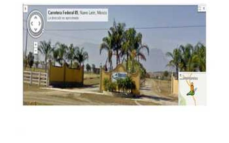 Foto de terreno habitacional en venta en  , el fraile, montemorelos, nuevo le?n, 1324447 No. 01