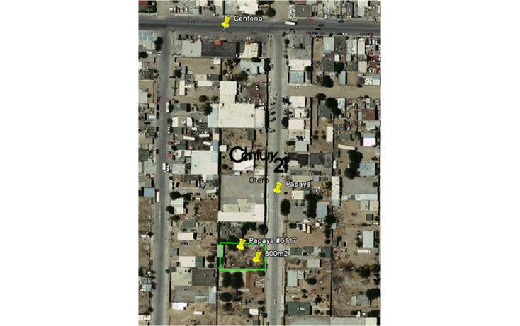 Foto de terreno habitacional en venta en  , el granjero, ju?rez, chihuahua, 1180349 No. 01