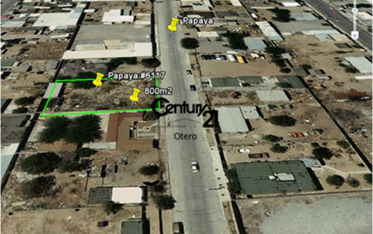 Foto de terreno habitacional en venta en  , el granjero, juárez, chihuahua, 1513282 No. 02