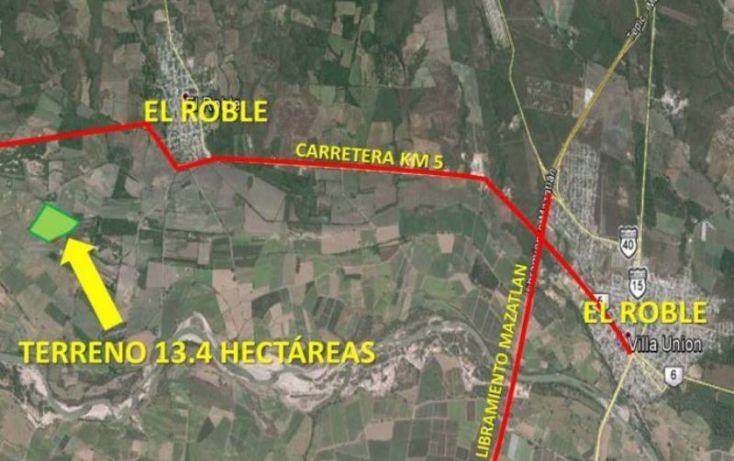 Foto de terreno industrial en venta en el guayabo, sindicatura de el roble, el roble, mazatlán, sinaloa, 985557 no 03