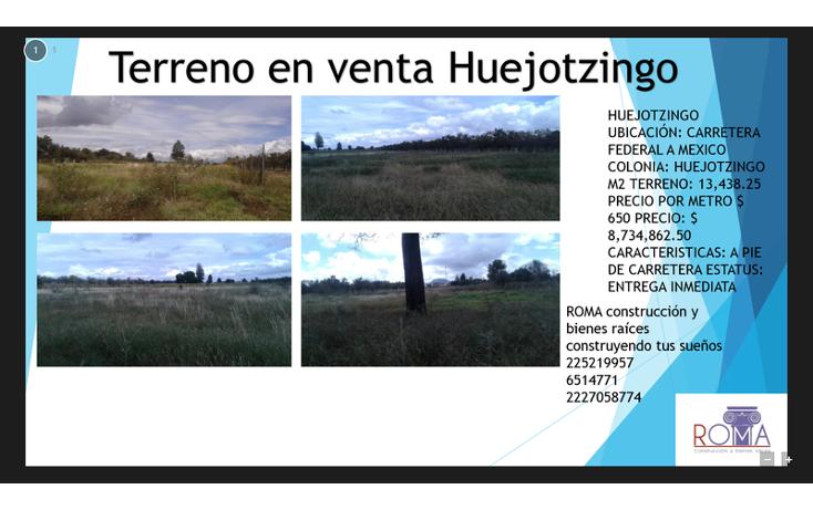 Foto de terreno habitacional en venta en, el huesito, huejotzingo, puebla, 1452323 no 02
